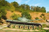 Soviet main battle tank T-72. — Stock Photo