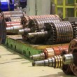 The electric motor rotor of stock. — Stock Photo #66068017
