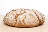 Round loaf of bread — Stock Photo