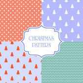 Christmas pattern vector — Vetorial Stock