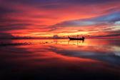 Beautiful Sunset at Samui island, Thailand — Stock Photo