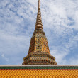 Wat Pho, One of important temple in Bangkok, Thailand — Stock Photo #57351271
