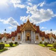 Traditional Thai architecture, Wat Benjamaborphit or Marble Temp — Stock Photo #57358489
