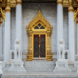Traditional Thai architecture, Wat Benjamaborphit or Marble Temp — Stock Photo #57359795