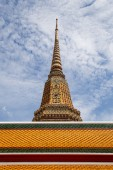 Wat Pho, One of important temple in Bangkok, Thailand — Стоковое фото