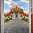 Traditional Thai architecture, Wat Benjamaborphit or Marble Temp — Stock Photo #57384043