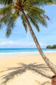Tropical beach in Phuket, Thailand — Stock Photo