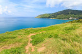 Beautiful view of tropical sea in Phuket, Thailand — Stock Photo