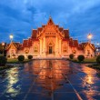 Traditional Thai architecture, Wat Benjamaborphit or Marble Temp — Stock Photo #57493971