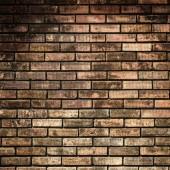 旧砖墙背景 — 图库照片