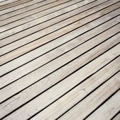 Grey Timber decking background and texture — Stock Photo