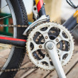 Постер, плакат: Bicycle crank set pedal