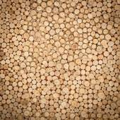 Abstract of wood logs texture background — Stock Photo