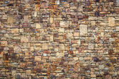 Natural stone wall texture for background — Stockfoto