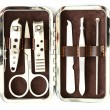 Tools of a manicure set on a white background — Stock Photo #59430713