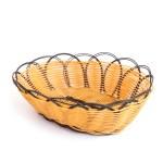 Plastic basket isolated on white background — Stock Photo #59434337