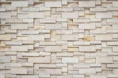 Sandstone wall texture for background — Stock Photo