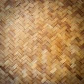 Bamboo weave background — Stock Photo