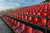 Temporary grandstand stadium in Phuket, — Stock Photo