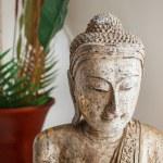 Wooden buddha statue — Stock Photo #59932041