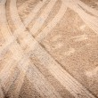 Tire mark on sand — Stock Photo #60061735