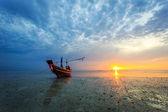 Sunset at Samui island, Thailand — Stock Photo