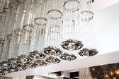 Modern ceiling lighting — Stock Photo