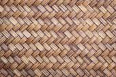 Woven bamboo texture — Stock Photo