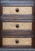 Thai style drawer — Stock Photo