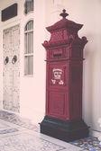 Vintage post box — Stock Photo