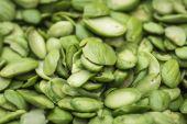 Tropical stinking edible beans — Stock Photo
