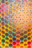 Colorful straws for background — 图库照片