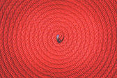 Red rope background — Stock Photo