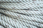 White rope roll — Stock Photo