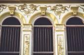 Ventanas de estilo sino-Portugués — Foto de Stock