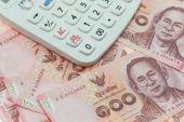 Thai money banknotes — Стоковое фото