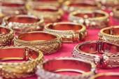 Handmade bangle in thailand — Stock Photo