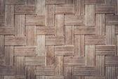 Bamboo weave texture — Stock Photo