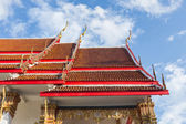 Beautiful Thai style architect — Stock Photo