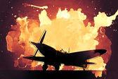 Supermarine Spitfire — Foto de Stock