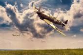 Supermarine Spitfire — Stockfoto