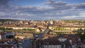 Wuerzburg City Panorama — Stock Photo