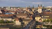 Wuerzburg City Panorama — Foto de Stock