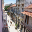 HAVANA, CUBA - JULY  16, 2013: Typical street view in Havana, the capital of Cuba — Stock Photo #55729535