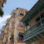 HAVANA, CUBA - JULY 16, 2013: Typical street view in Havana, the capital of Cuba — Stock Photo #55729549