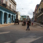 HAVANA, CUBA - JULY 16, 2013: Typical street view in Havana, the capital of Cuba — Stock Photo #55729615