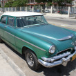 Typical old retro car on the street in Havana — Zdjęcie stockowe #55819921