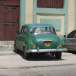 Typical old retro car on the street in Havana — Stock Photo #55819937