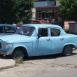 Typical old retro car on the street in Havana — Стоковое фото #55819999