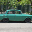 Typical old retro car on the street in Havana — Stock fotografie #55820035